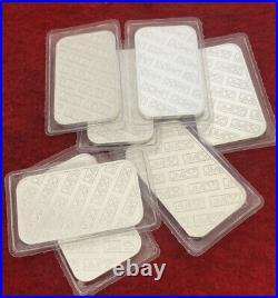 4X Genuine Johnson Matthew 1oz Solid Silver 999 Bar Sealed
