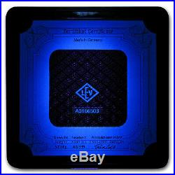5 Kilo Silver Bar Geiger Edelmetalle (Original Square Series) SKU#155918