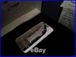 5 Silver Ingots Pure Solid Collectors Edition Bullion Bars Mint Condition 1-oz