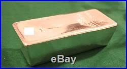 5 kilo silver bar, Umicore 999 Fine Solid Silver, LBMA approved