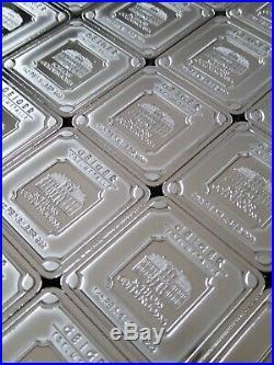 5 x 1 oz Geiger Edelmetalle Schloss Guldengossa Square Silver Bar