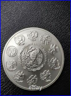 5oz silver libertad. 999 Fine Solid Silver. Low mintage of 9500