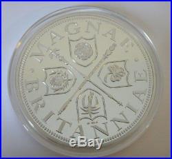 5oz solid. 999 fine / pure silver COIN Queen BOUDICA 2014 & COA ltd. Ed. 450