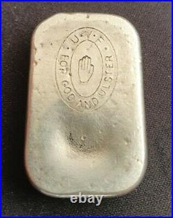 65g silver bullion bar ingot solid sterling ulster Volunteer Force UVF for God