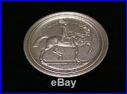 999/1000 Solid Silver Great Seal Medallion Medal Coin #1