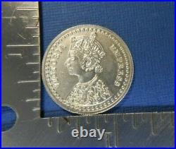999 solid 10 grams SILVER VICTORIA EMPRESS COIN