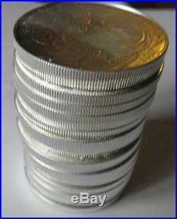 American Eagle One oz. Silver Dollars 2002 Solid Original Roll