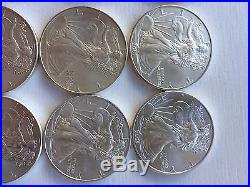 American Eagle Solid Silver Coin. 999