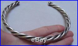 Ancient necklace silver solid tribal choker 70 grams