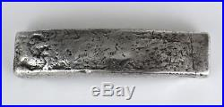 Annam Vietnam 10 Lang solid silver bar sycee 383grms 1800s