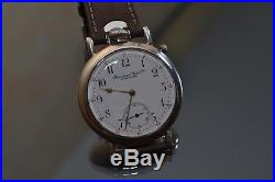 Antique IWC WW1 military pilot's men's watch solid silver
