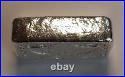 Atlantis Mint Skull Sword 5 Troy Ounces Of 999 Pure Solid Silver Bar