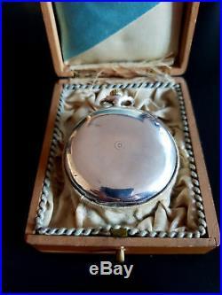 Audemars Frères Audemars Piguet. Antique Pocket Watch Solid Silver 800