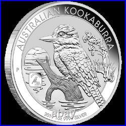 Australien 1 Dollar 2019 Kookaburra Privy Mark Square Penny 1 Oz Silber ST