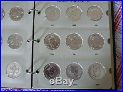 Boxed display set Canadian Silver Maple $5 1 oz Solid Silver Coin set 1988 to 20
