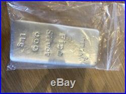 Capella 1 KG Silver Bar Matt Finish Investment Kilo Kilogram 1000g Solid. 999