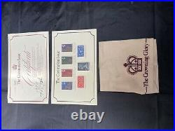 Coronation 25th Anniversary Issue Gold Plated Solid Silver Ingot Collection