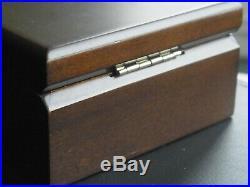Degussa 1 Kilo (Kg) / 1000G Silver Bullion Bar 999 with Solid Wood Gift Box