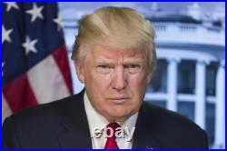 Donald J Trump 1/10 Troy Oz. 999 Fine Solid SILVER Round BU/UNC RARE