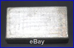Engelhard P 063073 Solid 999+ Fine Silver 10 Troy Oz Bar Collectible