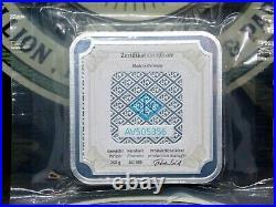 Geiger Edelmetalle 250 Gram. 999 Silver Square Bar AV505356 ECC&C, Inc