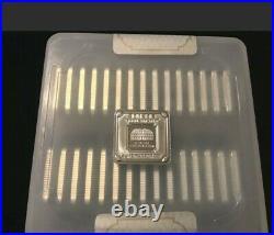 Geiger Edelmetalle 5 Gram Square Silver Bars FULL MINT SEALED BOX of (30)