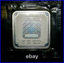 Geiger Edelmetalle Original Square Series Sealed 10 Oz. Silver Bar #AV469996
