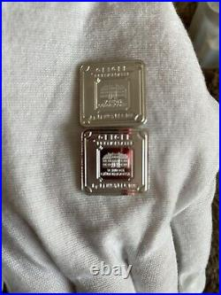 Geiger square silver bar 10 Gram 10 AVAILABLE! Buy All For 300.00
