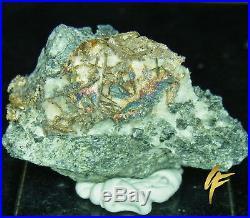 Genuine Silber-Stufe on Calcit-Matrix 48 Gram, Solid, Nugget, Present 74