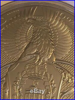Griffin Of Edward III 10 Oz (ounce) Silver Coin Solid Silver. 9999