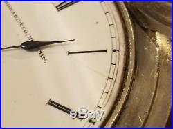 Howard Series III 1861-1871 Pocket Watch Keywind Size N solid coin silver