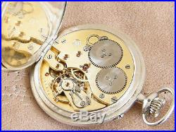 IWC Pocket watch Solid Silver International Watch Co from 1923