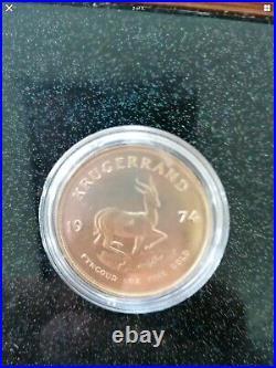 Krugerrand 1oz Solid 22ct