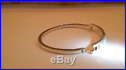 Ladies White Sunset Glow fire OPAL Cuff Bracelet $445.00 Solid silver 925 Click
