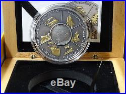 Limited edition silver coin 999 solid silver 1ozCook Islands SPACE SHUTTLE RARE