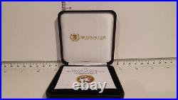 (Lot 718) 2017 Crown Tristan Da Cunha Solid Gold Coin The Queen Elizabetht II