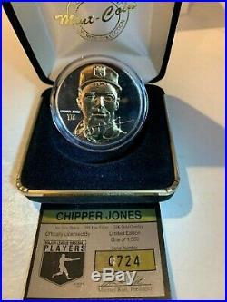 MICKEY MANTLE Highland Mint 4.25 troy OZ solid silver card