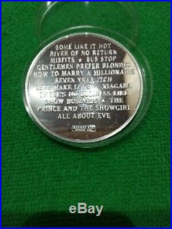 Marilyn Monroe Solid Silver. 999 5oz Round / Coin
