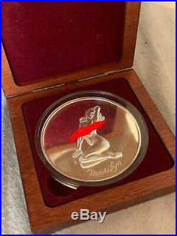 Marilyn Monroe Solid Silver Coin