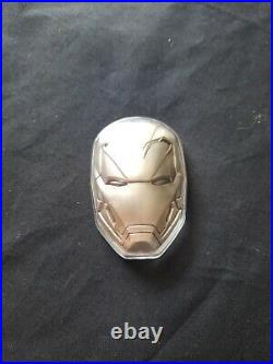 Marvel 2oz Solid Antique Silver Coin Imicon 1766 Face $2