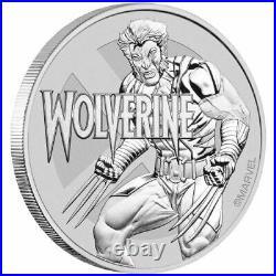 Marvel Wolverine 1 oz. 9999 Solid Silver Coin Tuvalu Dollar