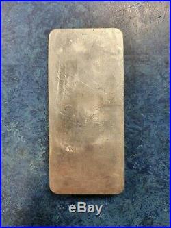 Metalor 1 Kilo Solid Silver Bullion Bar Switzerland