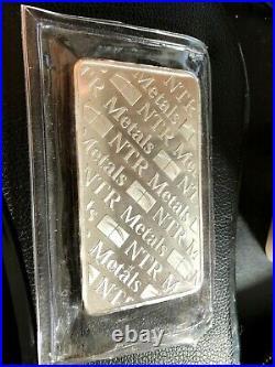NTR 10oz. 999 Fine Solid Silver Bar
