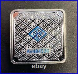 ORIGINAL (30 pc) CASE OF 20 GRAM GEIGER EDELMETALLE. 999 SILVER SQUARE BARS 20g