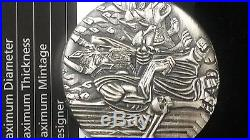 Pure Solid Silver. 999 Silver Coin Hades Gods Of Olympus
