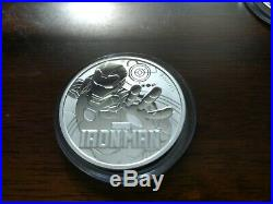 Perth Mint Tuvalu Marvel 1 Oz Solid Silver Coins 2-8. Trusted Seller. Free P&P
