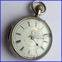 Queen Victoria Jubilee Pocket Watch Solid Silver Hallmarked 1886