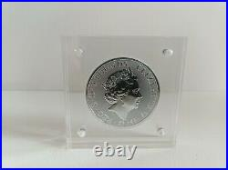 Queens Beasts 2oz 2021 Completer Coin In Square Magnetic Display Case