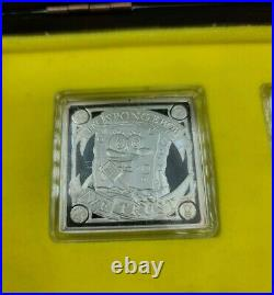 RARE 2011 Spongebob Square Pants 4 Coin Set Niue 999 Fine Silver
