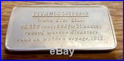 RARE BIRMINGHAM MINT 20 x SOLID SILVER INGOTS GREAT LINERS SHIPS TREASURE CHEST